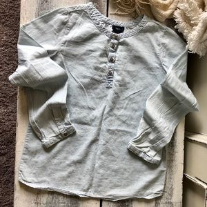 🦌 3 for $20 ~ GapKids Chambray Tunic Shirt 🦌